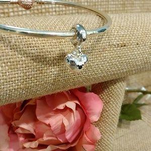 Pandora's Minnie Mickey heart emblem charm